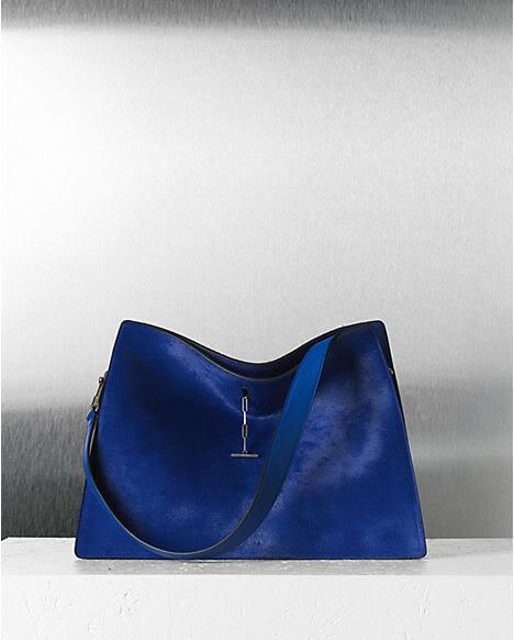 Cobalt Blue Shoulder Bag 25