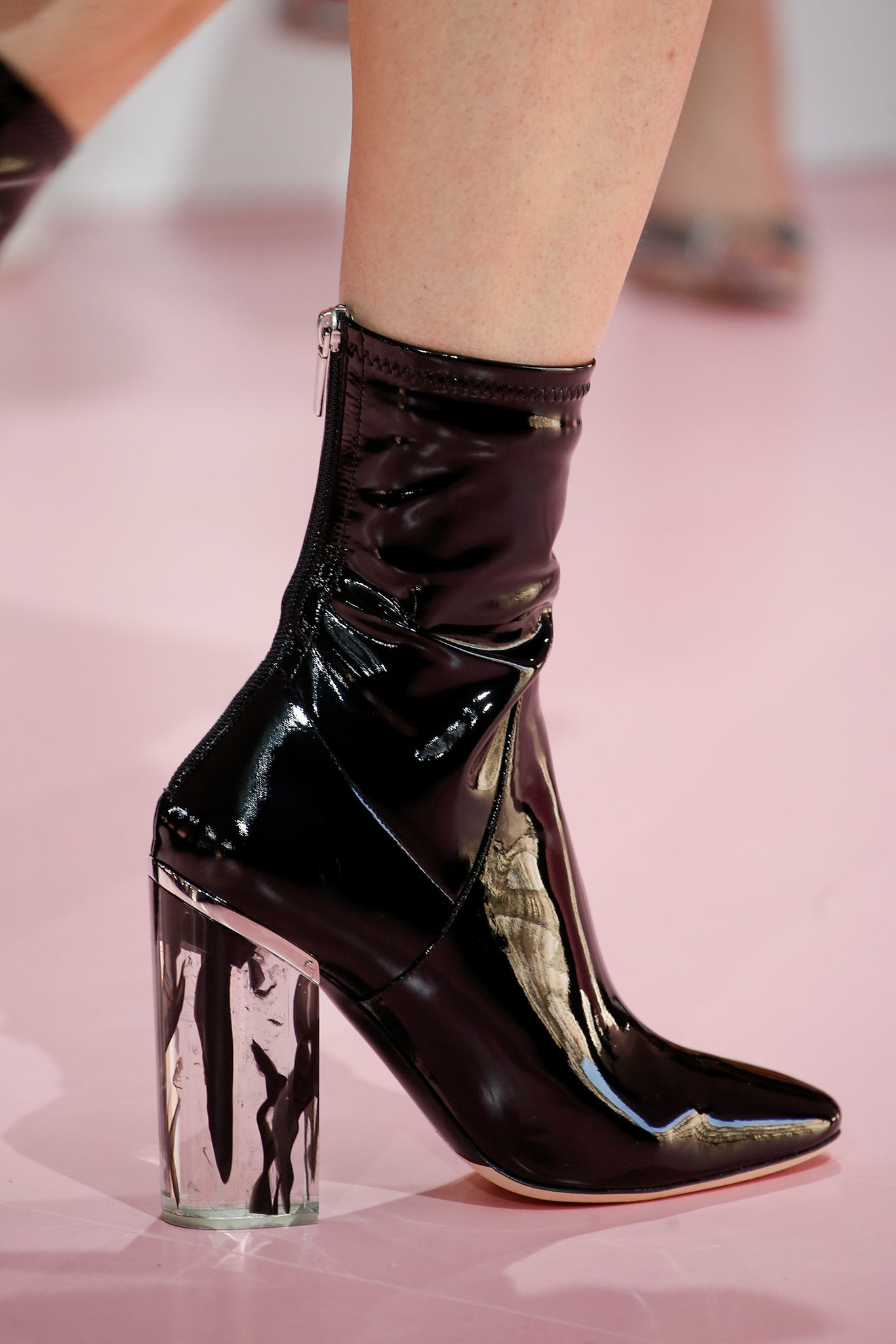 Lucite Heel Chicstyledaily